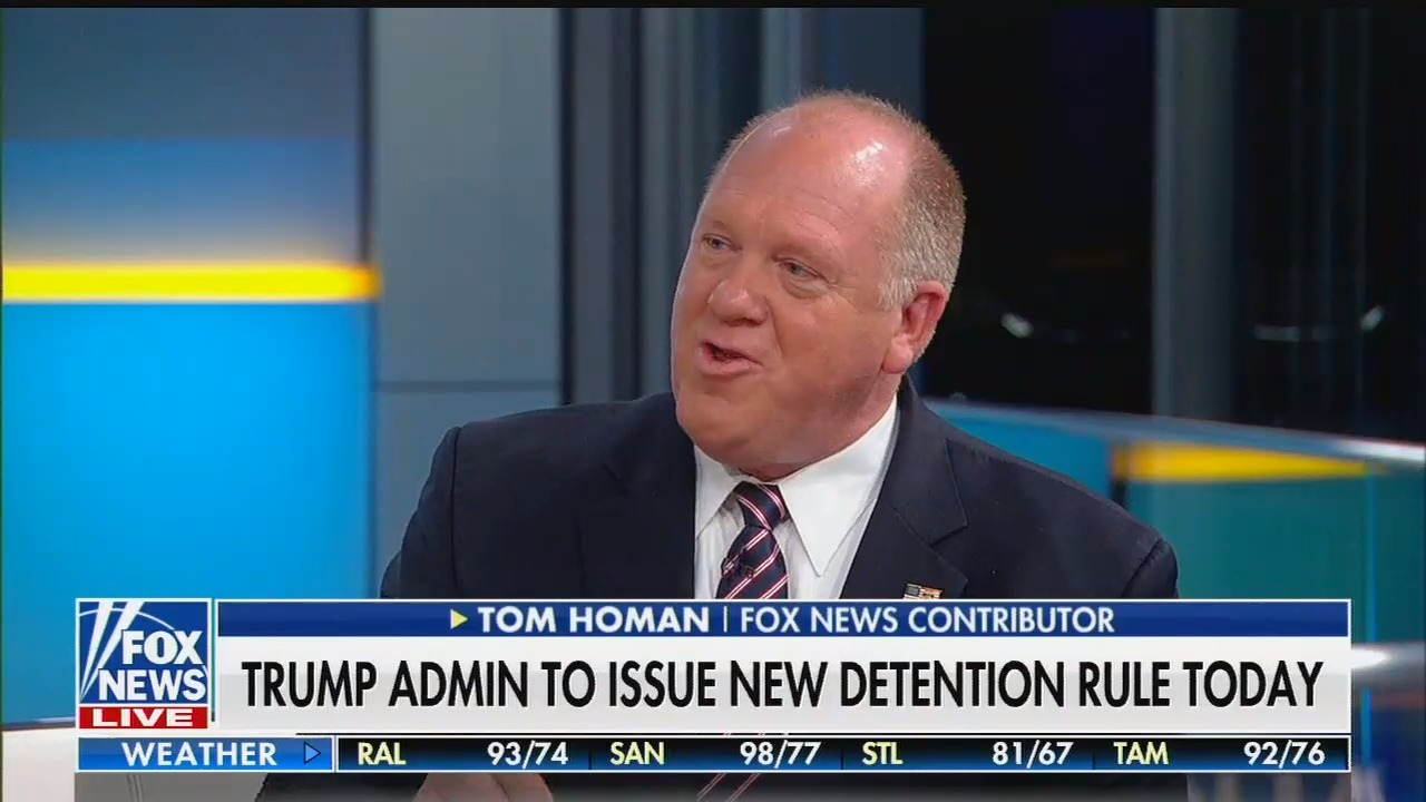 Fox News contributor: The Trump administration detaining