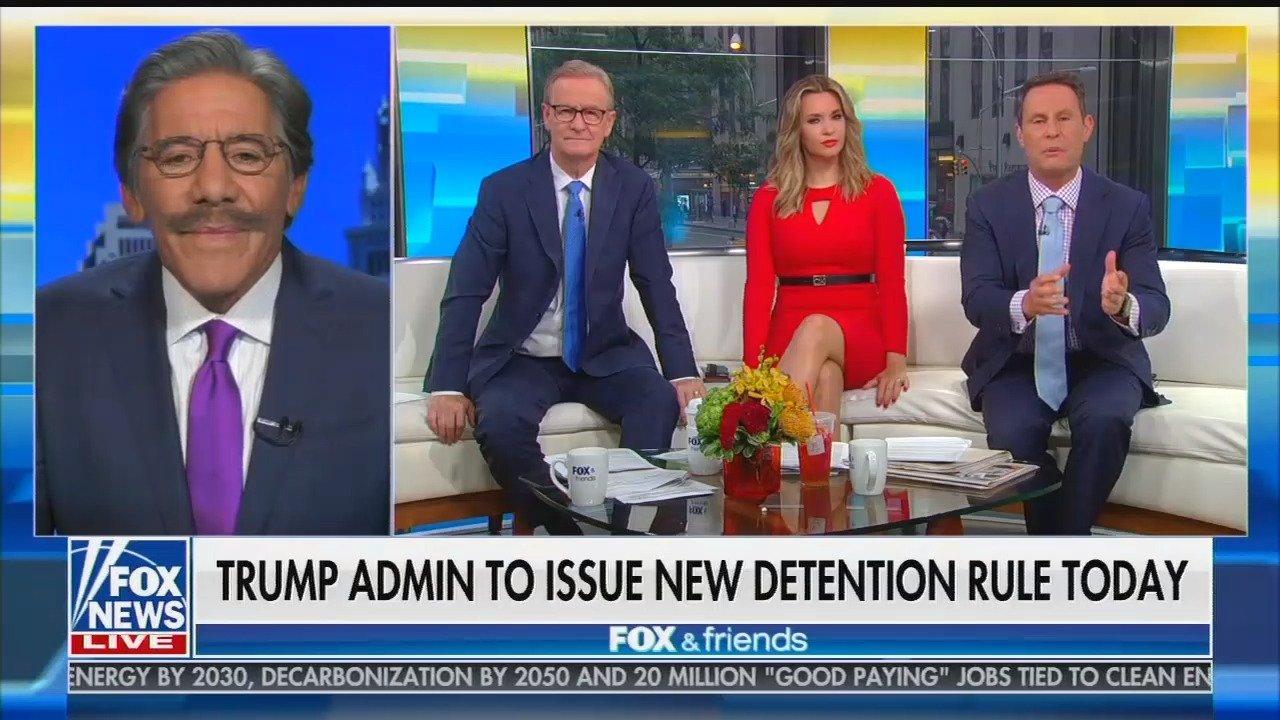 """Fox's Brian Kilmeade defends indefinite family detention as """"the most humane thing possible"""""""