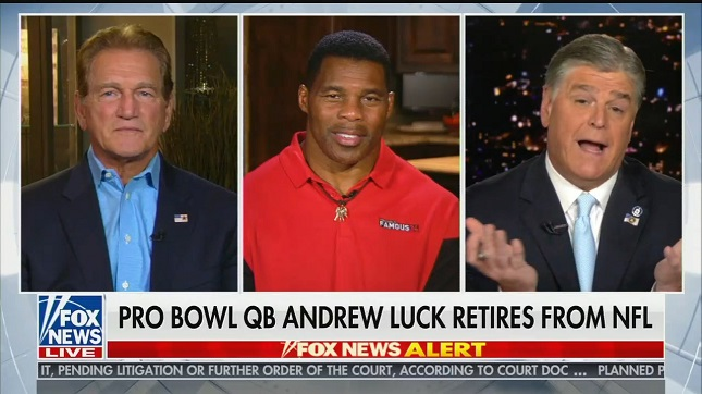 """Sean Hannity: Brain trauma is a """"real issue"""" in the NFL, """"but isn't that why we like football?"""""""