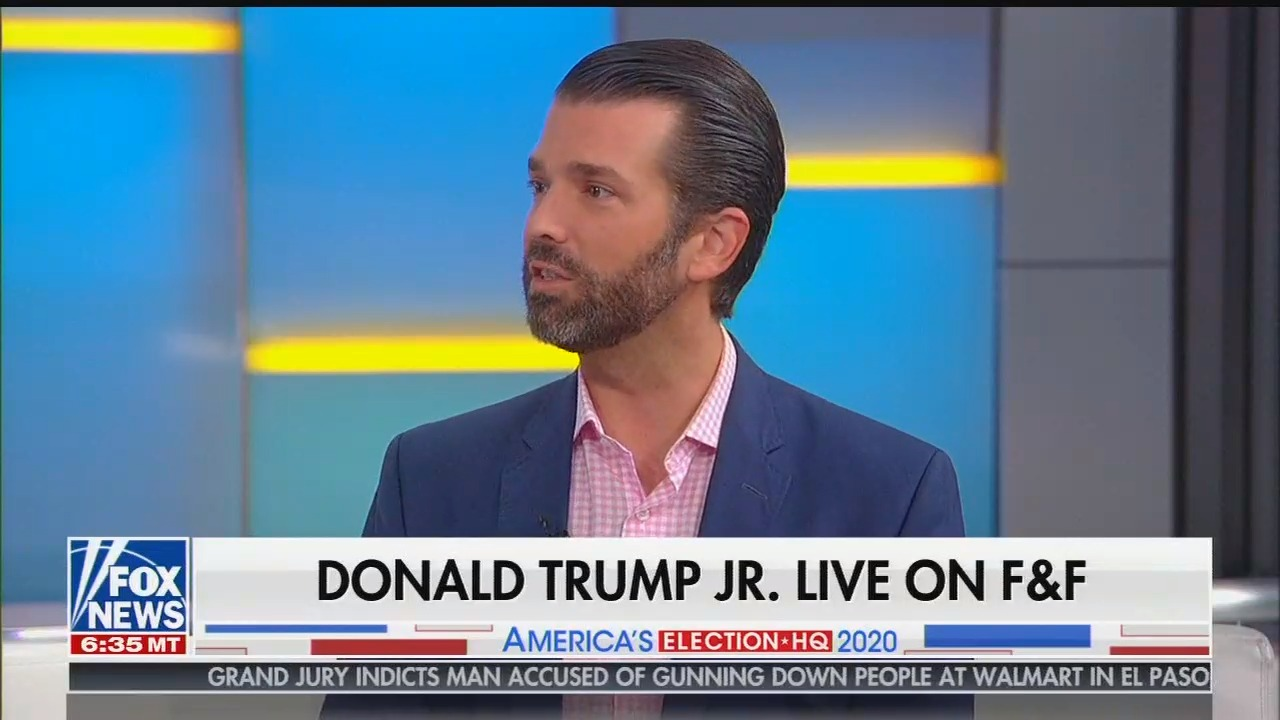 On Fox & Friends, Donald Trump Jr. touts debate ad that used the Cambodian genocide to attack Democrats