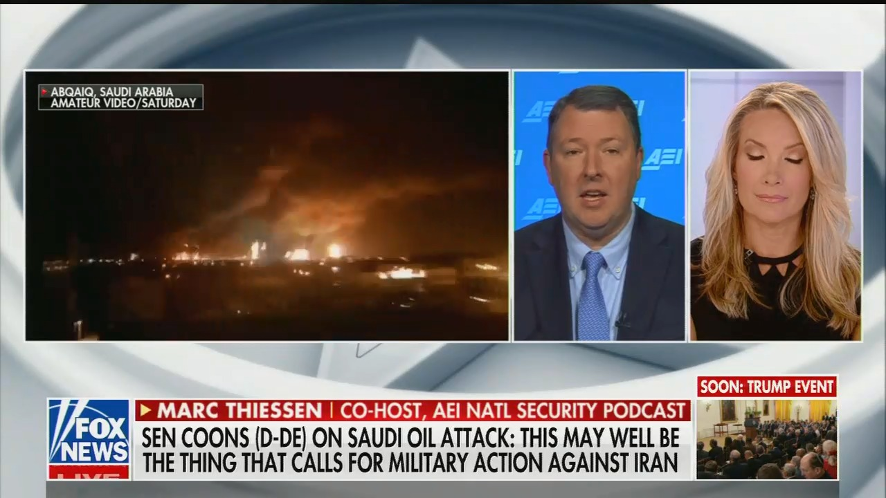 Fox contributor: Trump doesn't need Congressional authorization for war against Iran