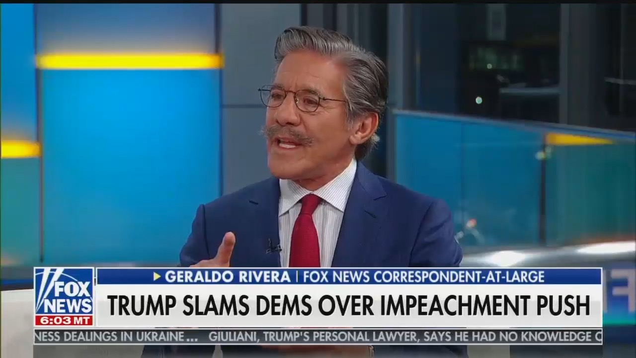mediamatters.org - Written by - Fox's Geraldo Rivera proposes a 'solution': Trump should 'comp those rooms' at his Doral club for G-7 summit