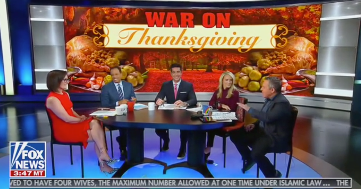 "World War T: How Fox News gave Trump a ""war on Thanksgiving"""