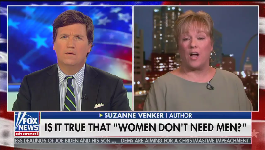 "Tucker Carlson: ""I don't think anything has changed our society more for the worse"" than feminism"