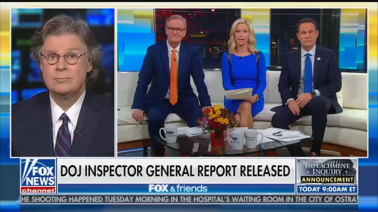 It's hard to describe how much Fox News is lying about the Horowitz report