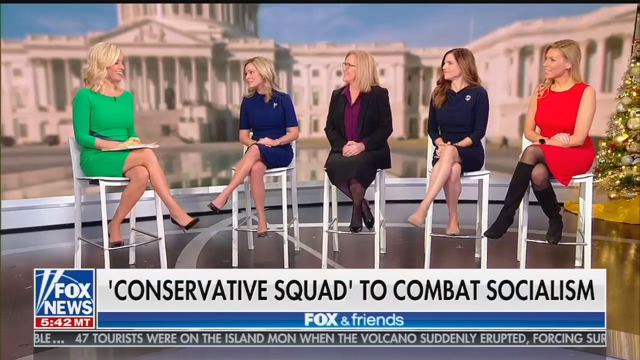 """Fox & Friends promotes Republican fundraiser page for """"conservative squad"""""""