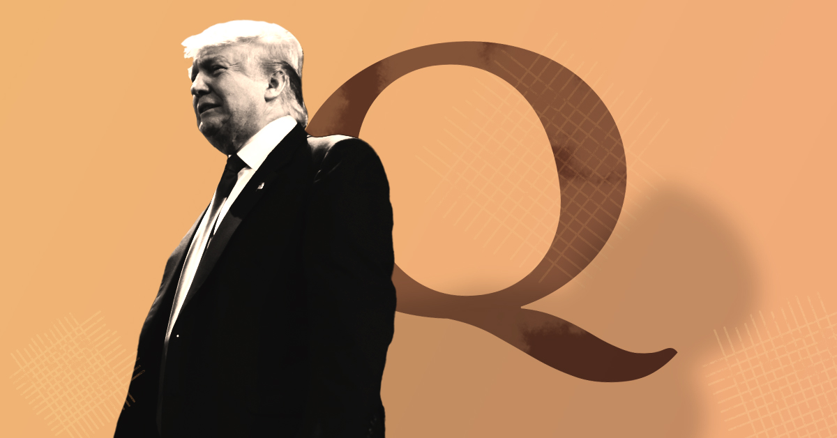 Trump has repeatedly amplified QAnon Twitter accounts. The FBI has linked the conspiracy theory to domestic terror.