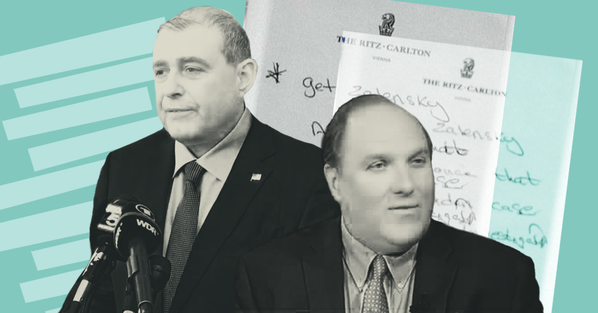 Evidence from Giuliani associate Lev Parnas reveals context of John Solomon's involvement in Ukraine plot