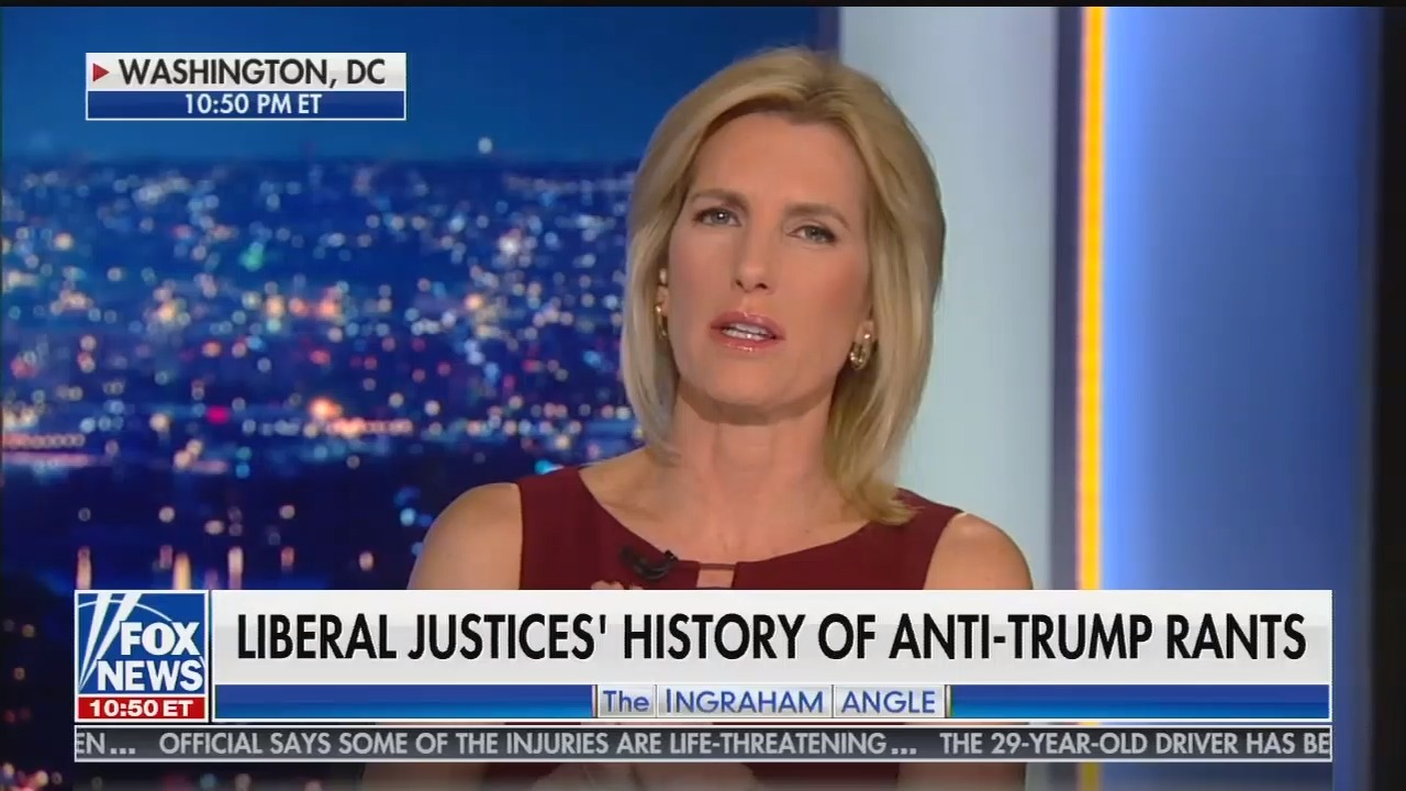 Trump calls for liberal Supreme Court justices to recuse themselves in response to Fox segment