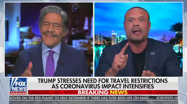 """Fox's Dan Bongino says it's """"Chinese propaganda"""" to point out Stephen Miller wrote Trump's Oval Office speech"""