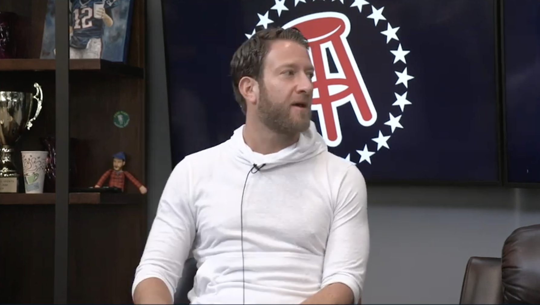 Barstool Sports founder Dave Portnoy pushes coronavirus 'truther' theory — and admits it's about his bottom line
