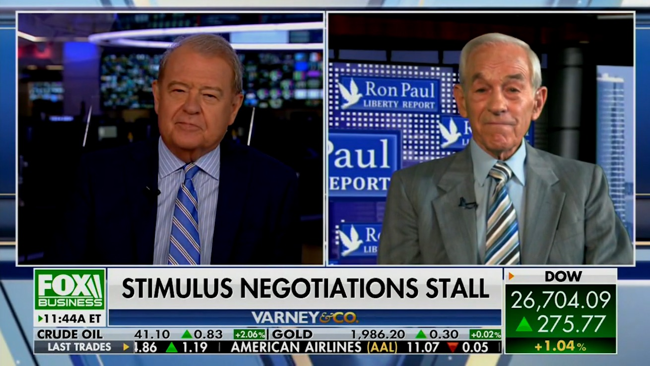 Ron Paul uses Fox appearance to push conspiracy theory about a COVID-19 vaccine and Bill Gates