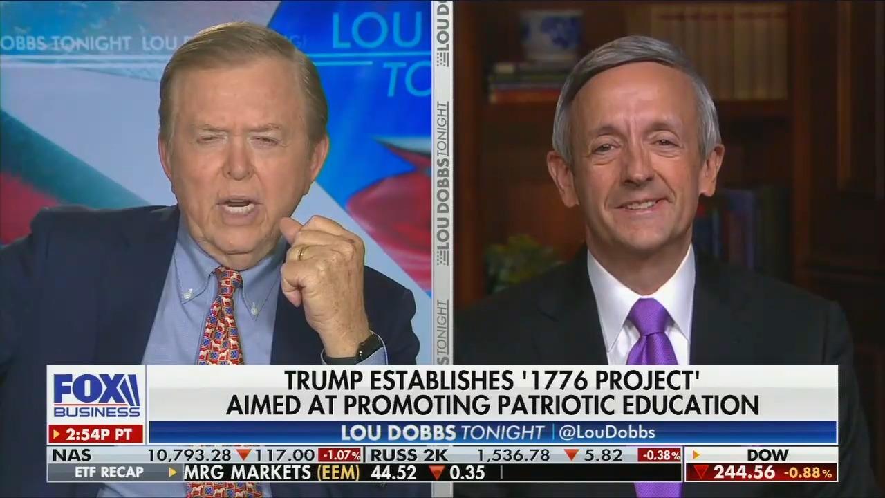 Fox News Pastor Robert Jeffress compares the 1619 Project to Nazi propaganda