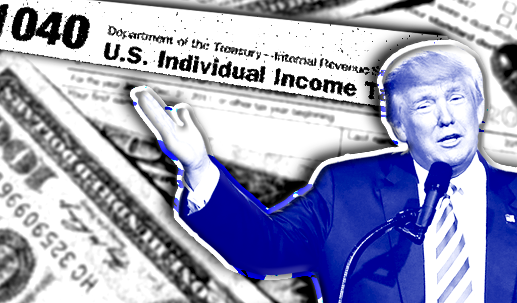 Right-wing media are blaming Biden for the effects of Trump's tax cuts