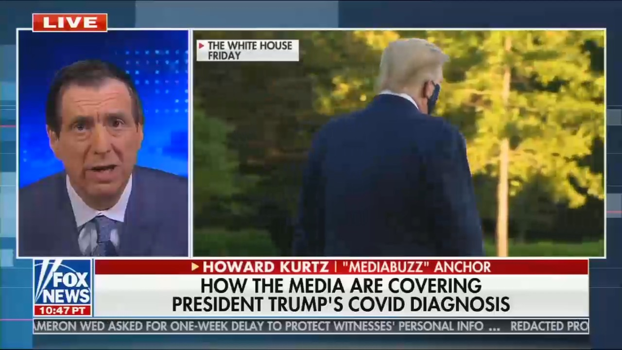 Fox News whines at any criticism of Trump's behaviors leading up to COVID-19 diagnosis
