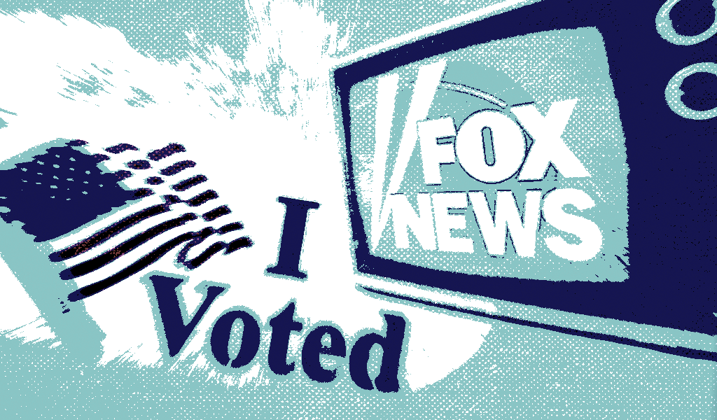 How Fox News helped to spread right-wing groups' efforts to undermine the 2020 election