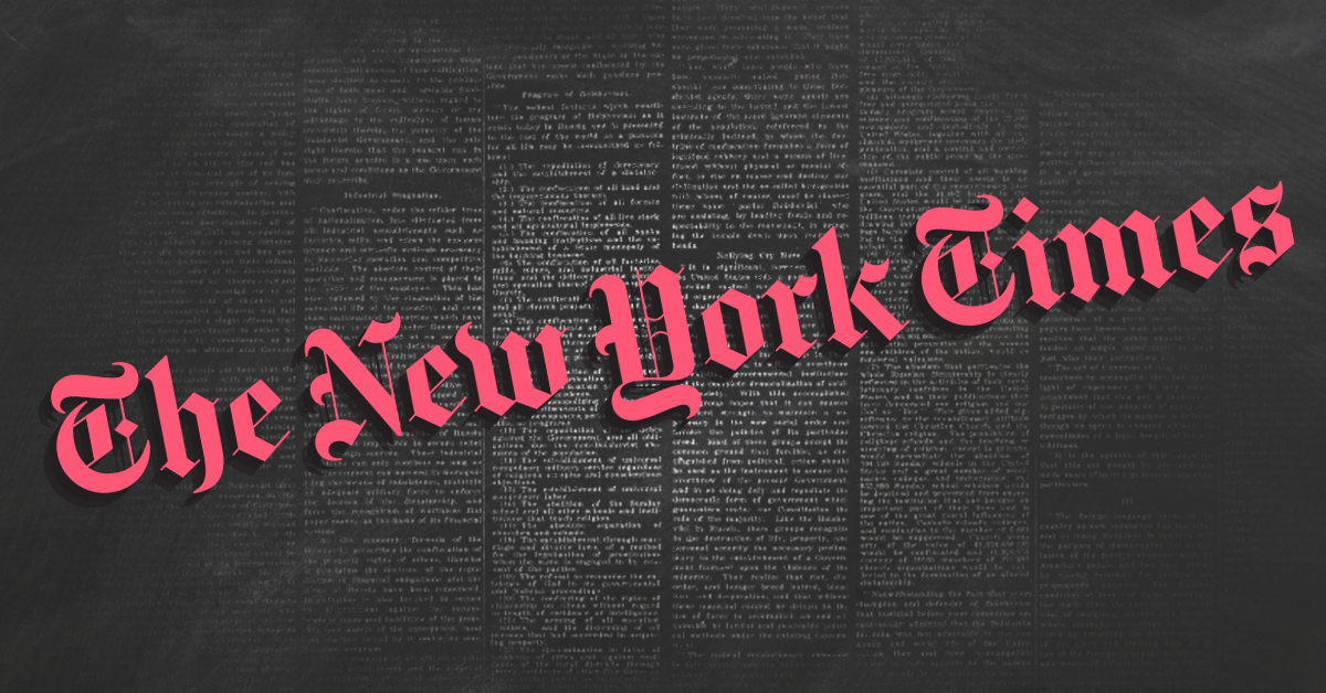 New York Times article epitomizes how media outlets let Republicans get away with threatening to crater the economy