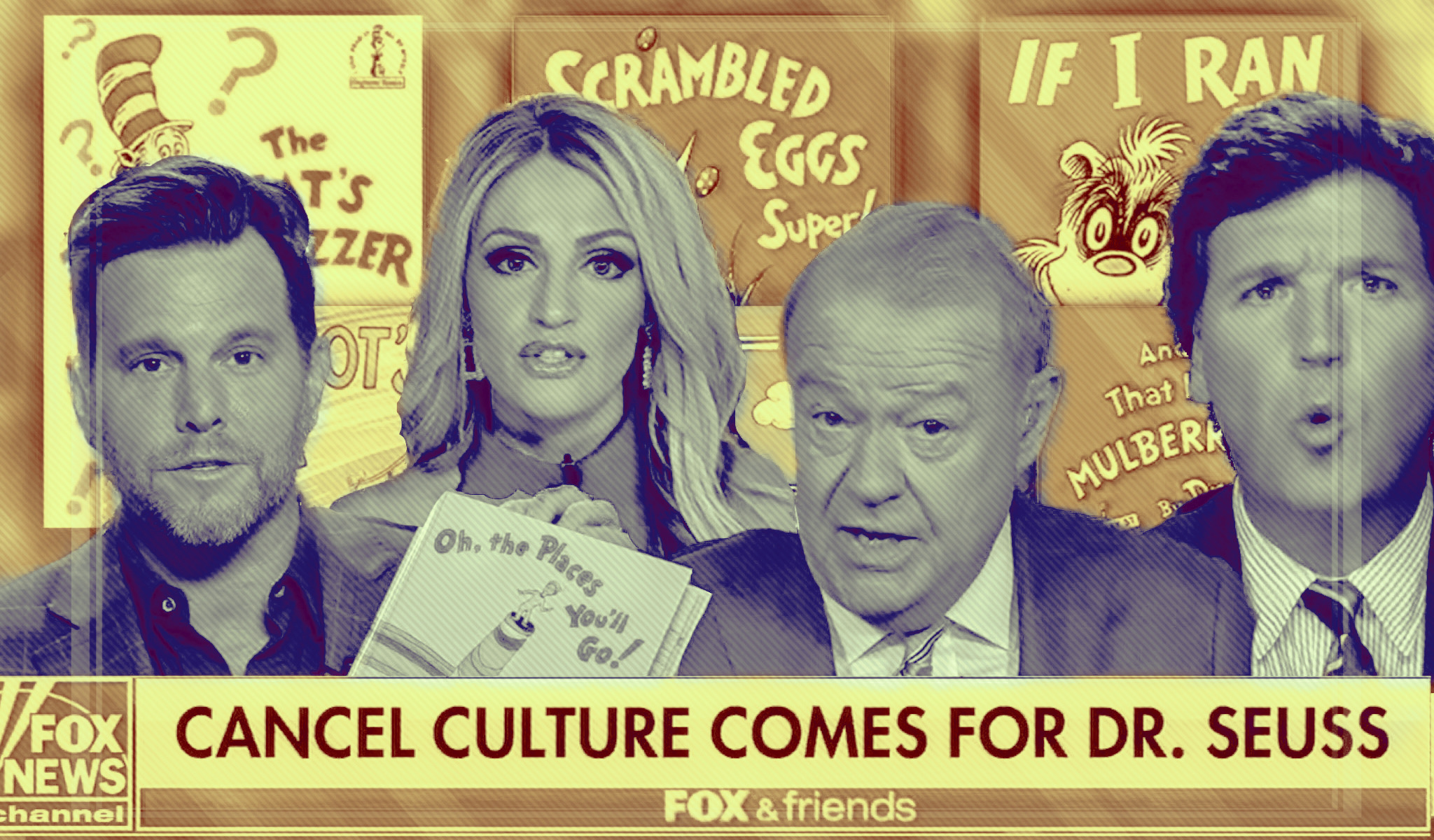 """Fox News' Dr. Seuss obsession reveals the dishonest desperation of the right-wing war on """"cancel culture"""""""