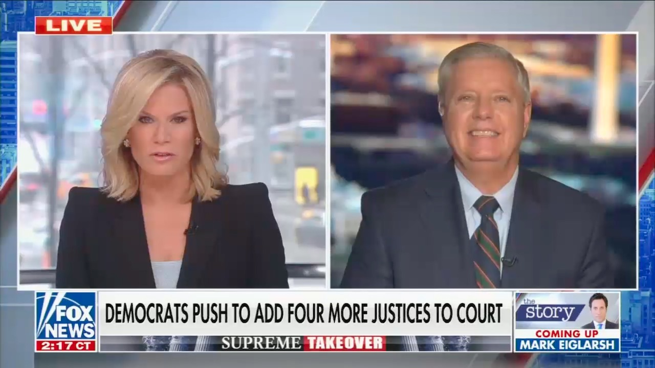 "Fox ""news""-side anchors rewrite history of Republican abuses on Supreme Court appointments"