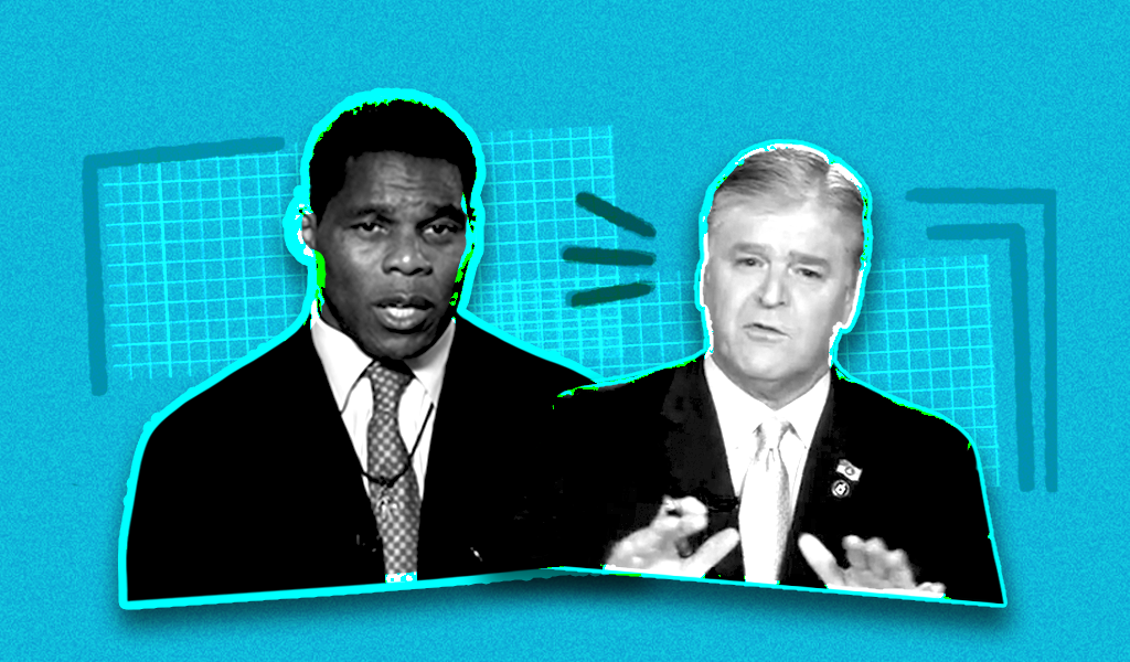 Republicans upset about Herschel Walker's potential Senate run should take it up with Hannity