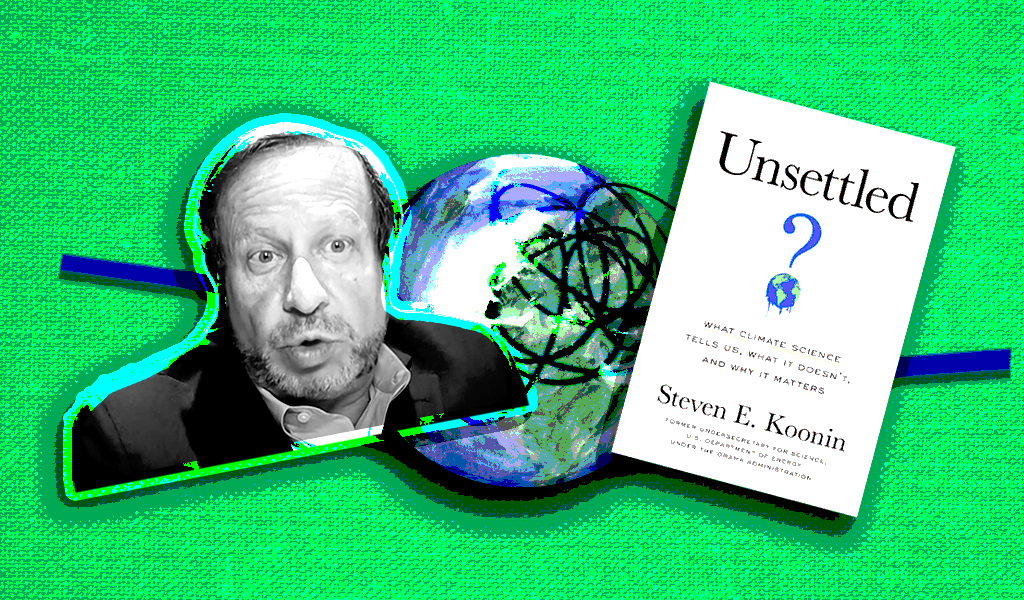 Right-wing media are having a field day with physicist Steve Koonin's new book of climate misinformation
