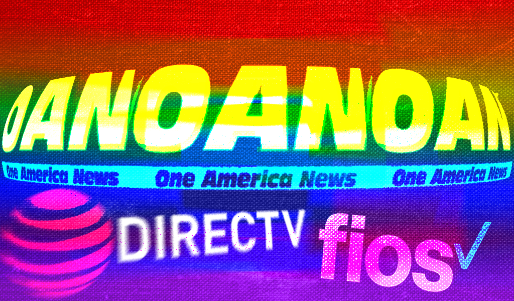 OAN is a cesspool of anti-LGBTQ hate. It's supported by these cable providers and streaming services.