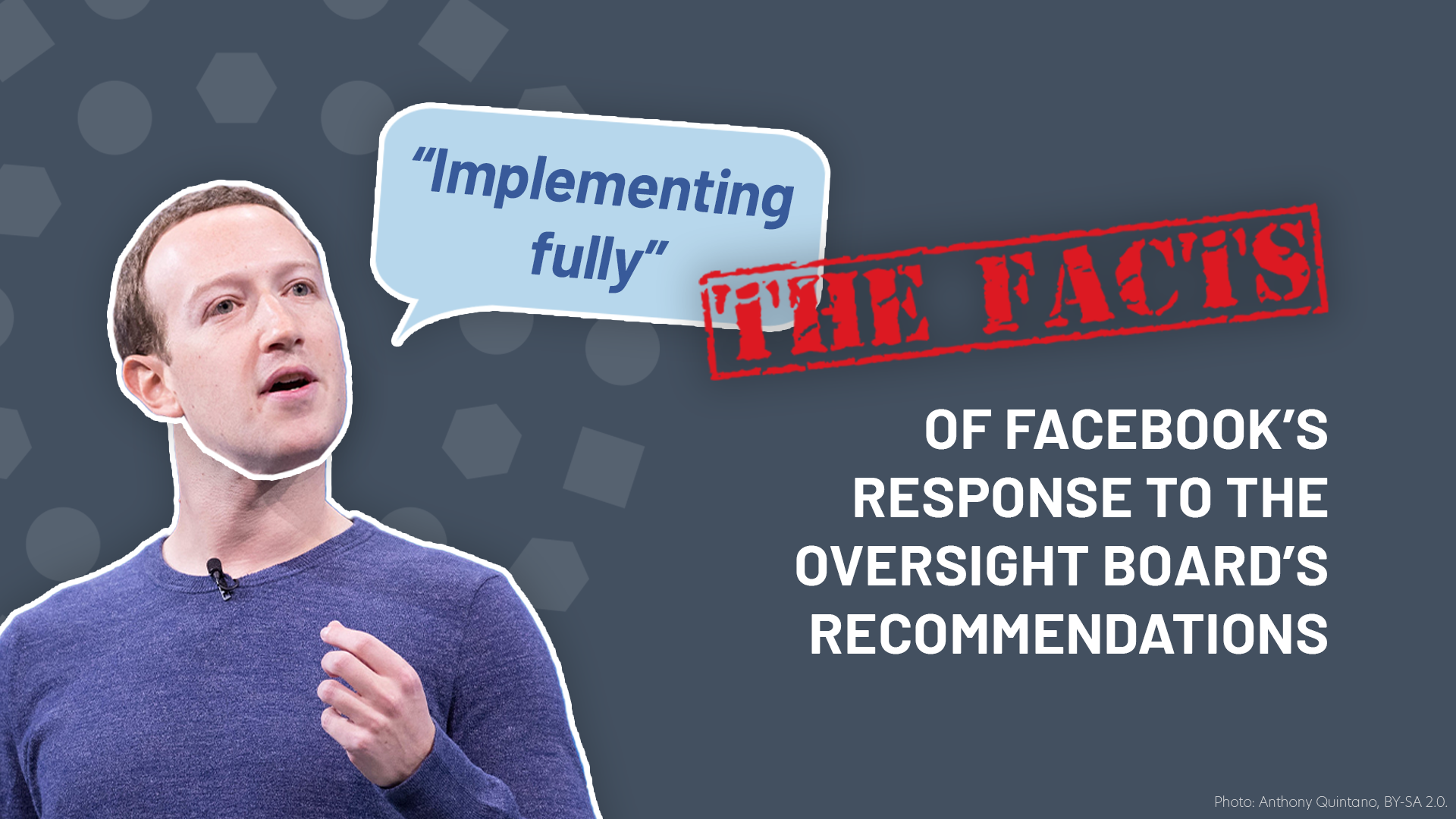 Facebook's responses to the Oversight Board are a sham