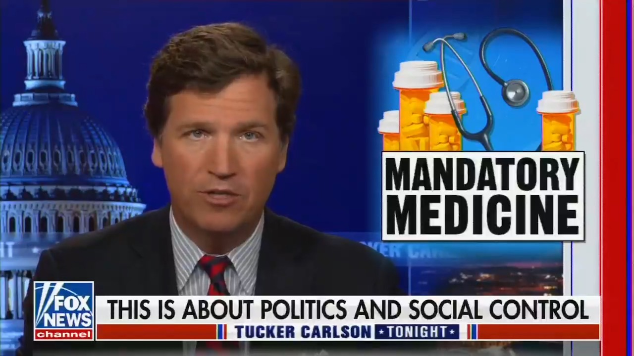 Fox News attacks the Biden administration for implementing Fox's own vaccine policy for its employees