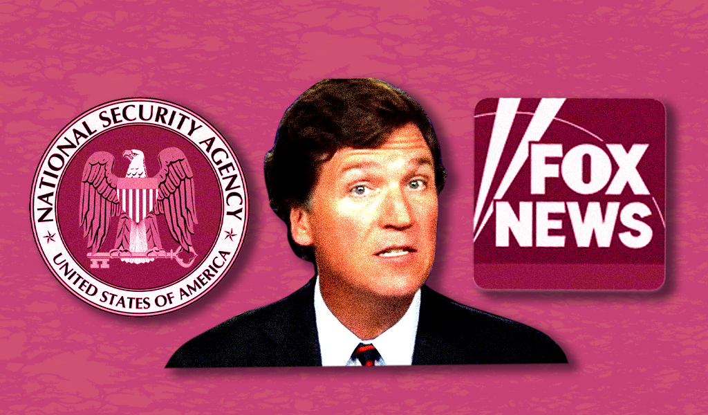 Tucker Carlson's NSA allegation fell apart, so he's lying about it