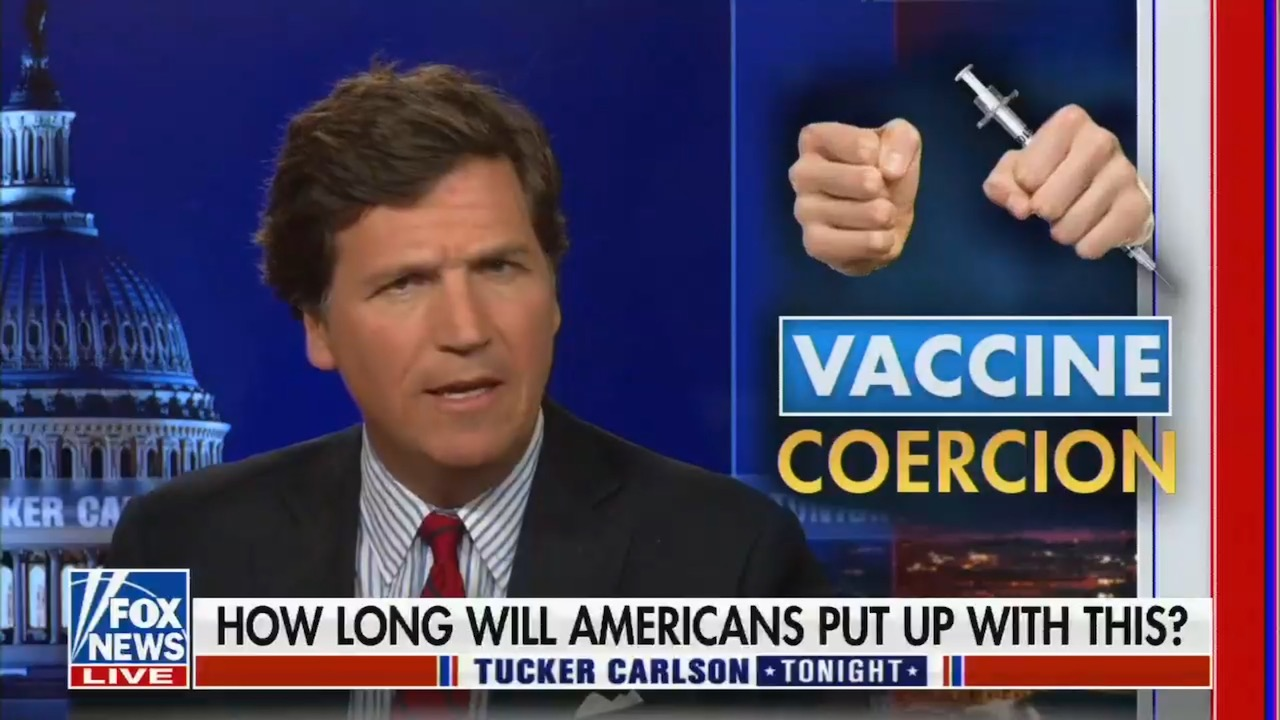 """Fox News lies about the history of vaccine mandates, suggesting people will """"resist"""" and """"something awful"""" will happen"""