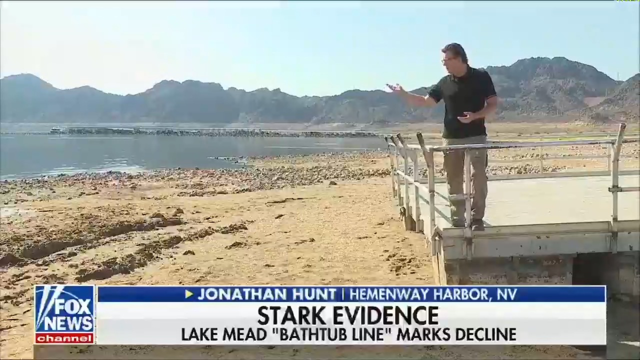 Fox News runs segment on water shortages in the Southwest — without ever admitting it's because of climate change