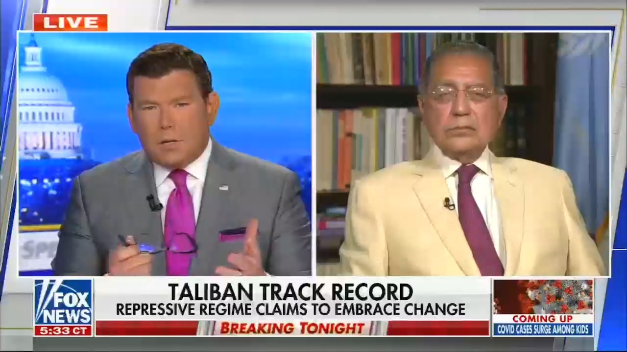 Fox News tries to ignore Trump getting the Taliban leader released in 2018, and pin all the blame on Obama releasing somebody else