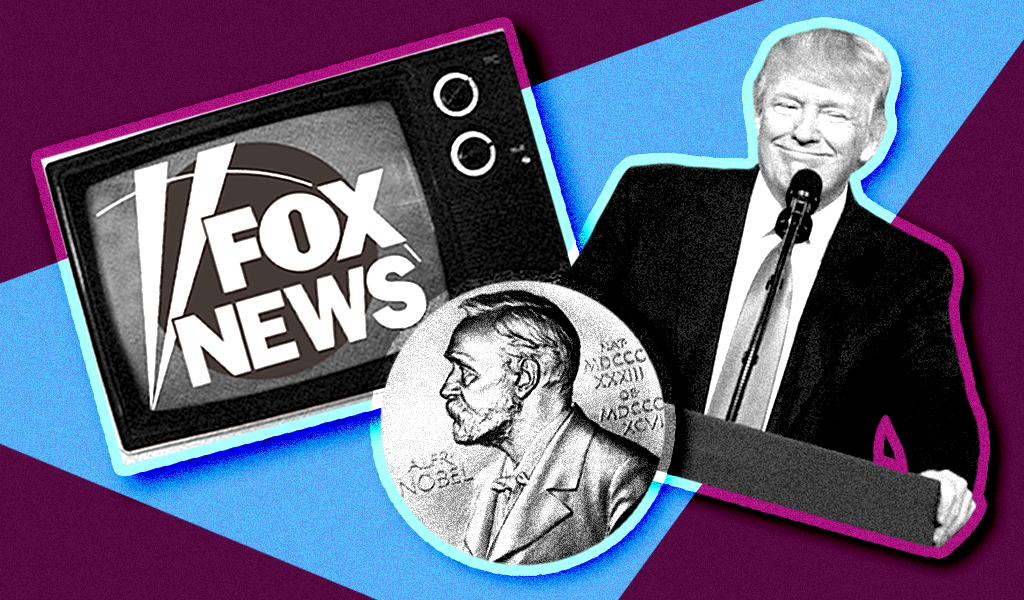 Fox News hypes Trump's participation trophy of a Nobel Peace Prize nomination