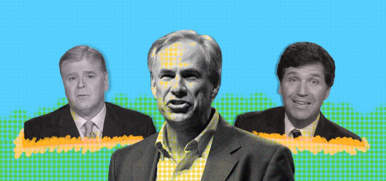 A Fox prime-time power struggle mounts over Texas gubernatorial race