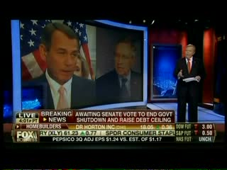 Fox's Dobbs Dismisses Fact That Government Shutdown Has Hurt