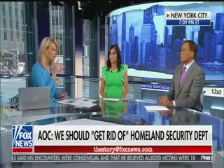 "Fox contributor: ""You have to wonder"" if Rep. Ocasio-Cortez is working for terrorists, sex traffickers, and drug cartels instead of America"