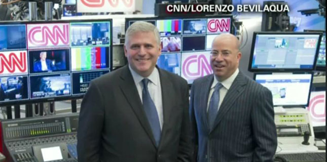 Phil Kent, Chairman and CEO of Turner Broadcasting System, Inc and Jeff Zucker, President of CNN Worldwide