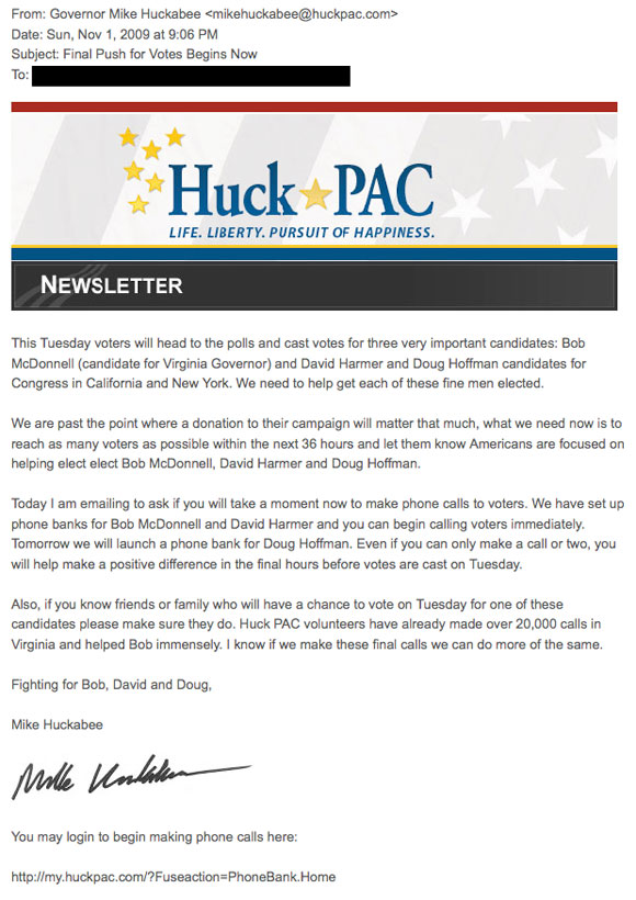 huckpacletter