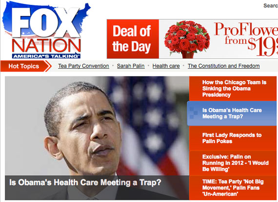 Fox Nation: Is Obama's health care meeting a trap?