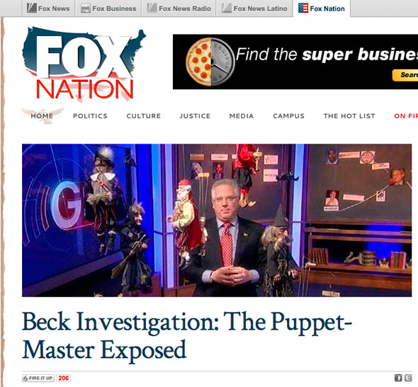 Fox Nation promoted then-Fox host Glenn Beck's anti-Semitic attack on George Soros.