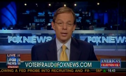Fox News promotes voter fraud hotline