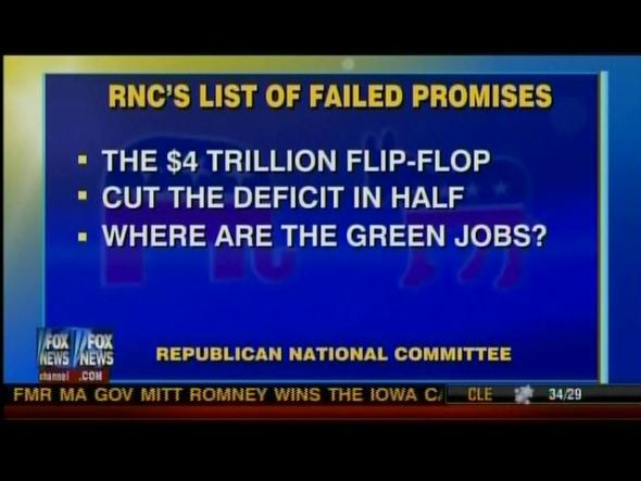 RNC List Of Failed Promises