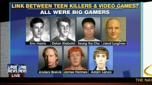Image result for school shooter and video games