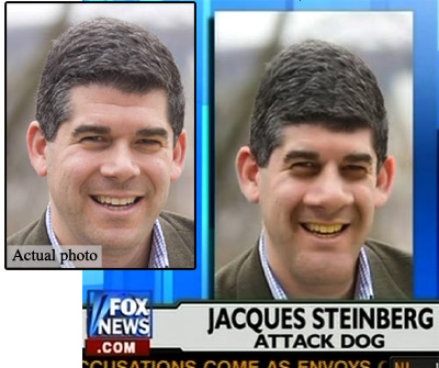 Fox News anti-Semitic photoshop job