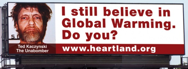 Heartland Unabomber billboard