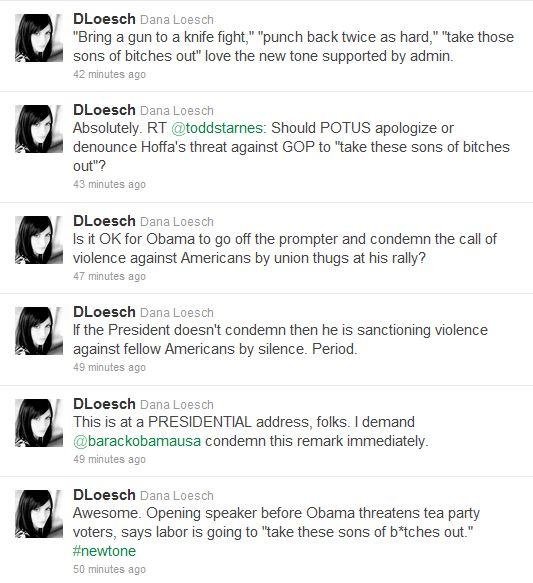 loesch tweets