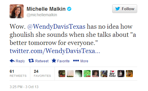Michelle Malkin tweet