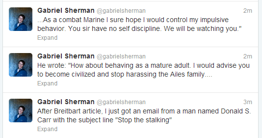 Sherman Tweets
