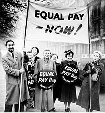 the political importance of the equal pay act of 1963 by john f kennedy President john f kennedy signing the 1963 equal pay act, a law top  the  political and moral case for shorter hours was just as important as.