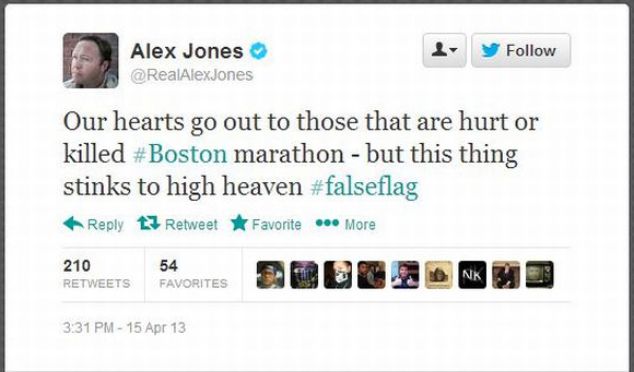 Alex Jones On Boston Blasts: U S  Gov't Is